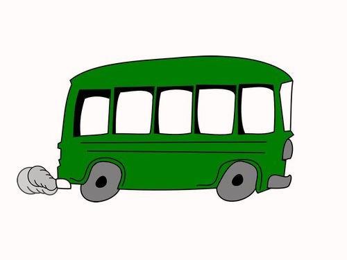 「バスに乗っていると後ろから肩をとんとんと叩かれた」