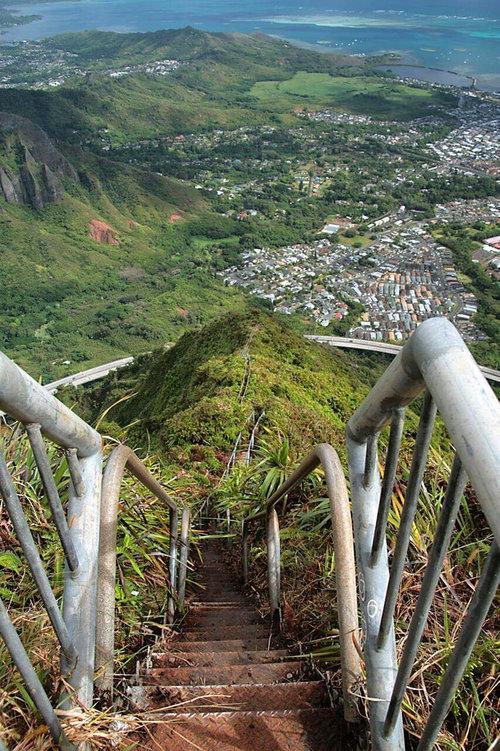 ハワイの天国への階段03