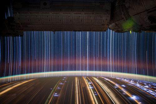 NASAの長時間露光02