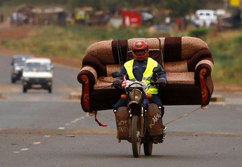 バイクで物を運ぶ限界08