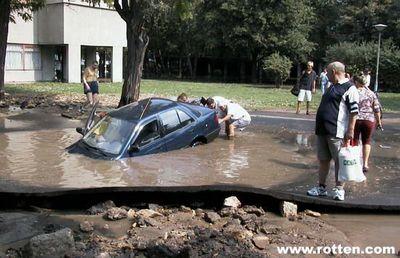 女性ドライバーの事故・失敗・下手13