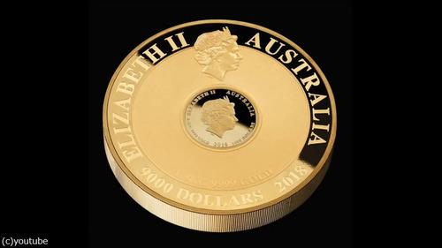 オーストラリアが2億円の金貨を鋳造05