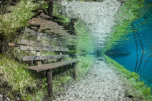 オーストリアの水中の公園01