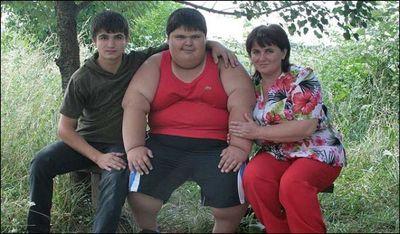 世界一肥満の子供01