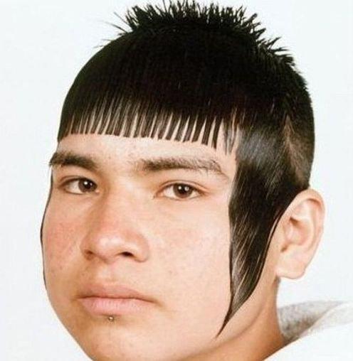 風変わりなヘアスタイル10