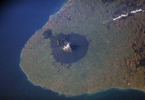 宇宙から見た「富士山」05