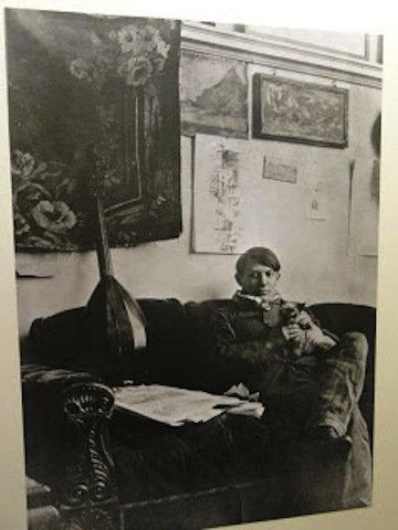 芸術家と猫 minou