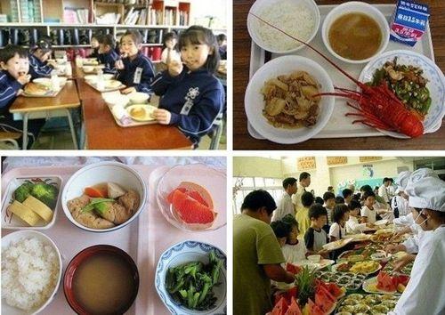 日本の給食は健康01