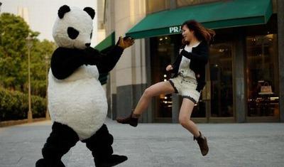 パンダのホットパンツ07