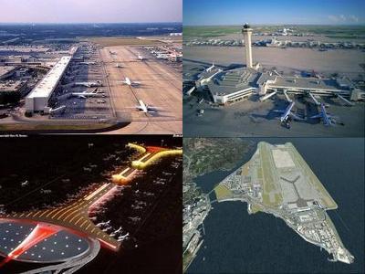世界の最も忙しい空港00