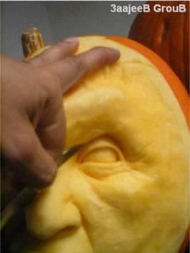 かぼちゃ彫刻09