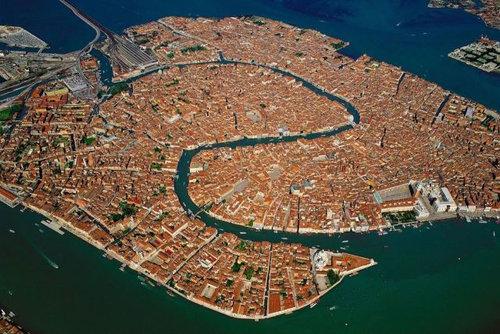 上空から見た都市18