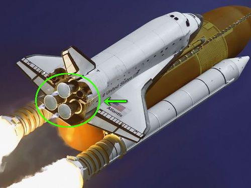 スペースシャトルのエンジン00