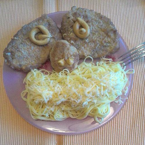 ロシア流の料理デコレーション07