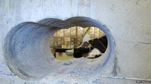 ドリルで金庫に穴をあけた泥棒01