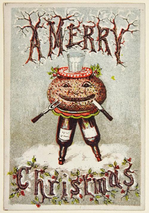 19世紀のクリスマスカード08
