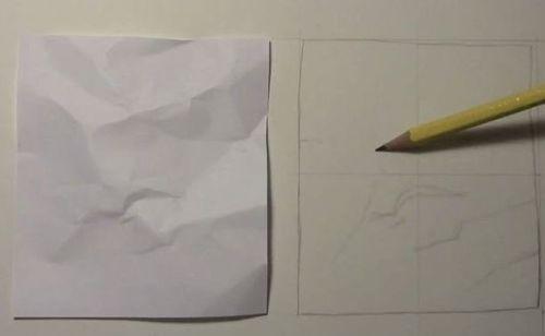 紙のスケッチ