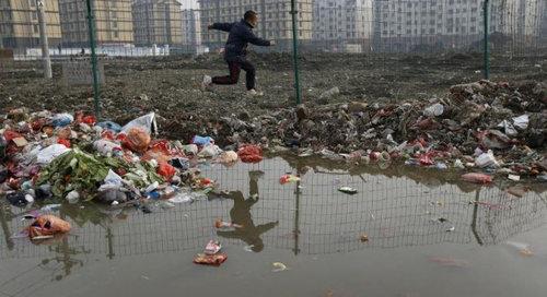 中国のもはや手に負えない公害15