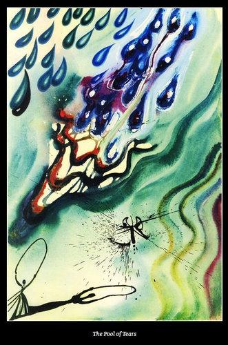 ダリが描いた不思議の国のアリス03