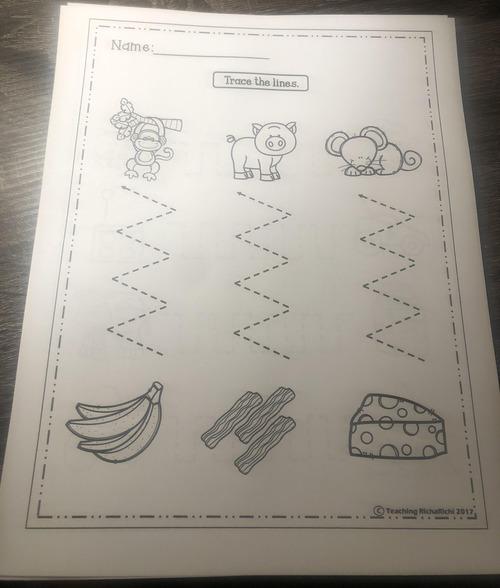 3歳児のお絵かき帳01