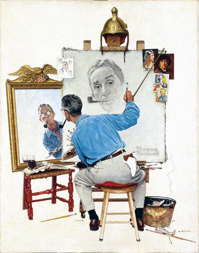 絵を描いている人の絵02