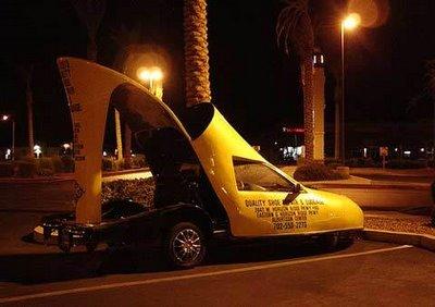 靴の形をした車10