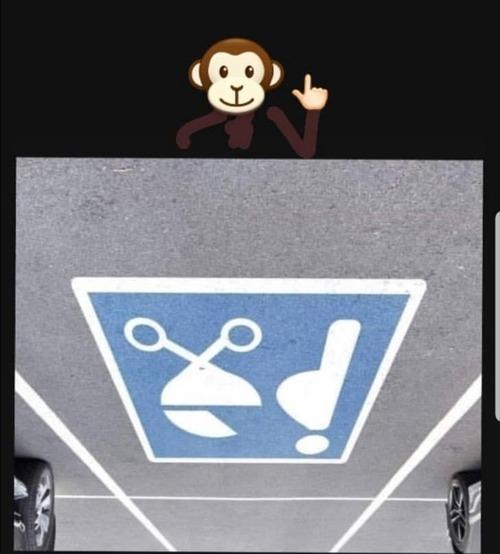 アメリカ人が喜ぶ駐車マーク01