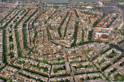 上空から見たアムステルダム02
