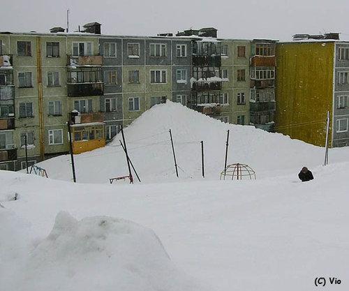 ロシアの普通の冬03