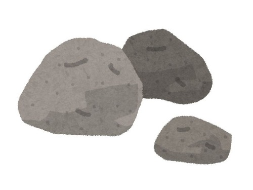 この石の彫刻はどうやって作ったのだろう00
