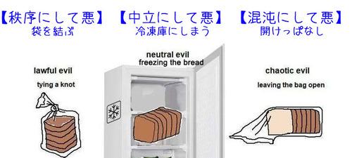 食パンの保存のしかたでわかる、あなたの属性03