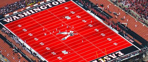 スタジアムのピッチの色が青いとき03