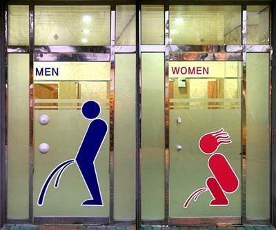 笑えるトイレ表示17