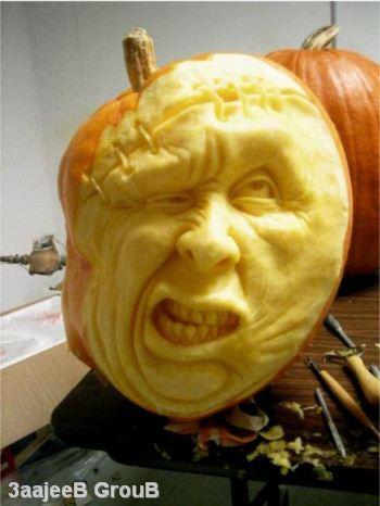 かぼちゃ彫刻13
