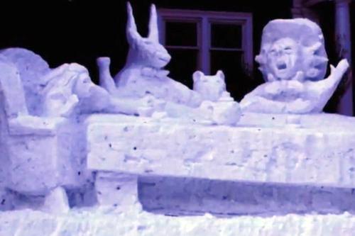 ミネソタ州の雪だるま05