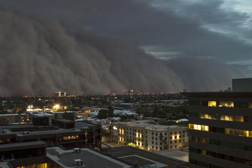 アリゾナ砂嵐02