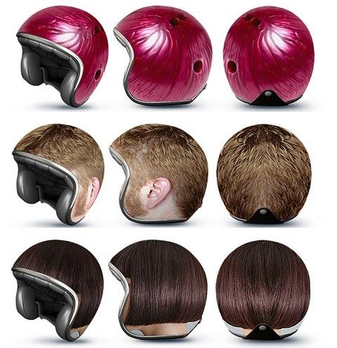 大きい頭のヘルメット03