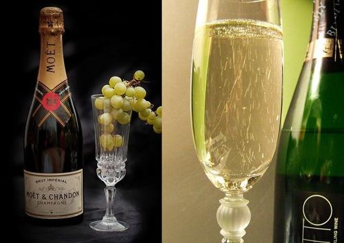シャンパンとスパークリングワイン