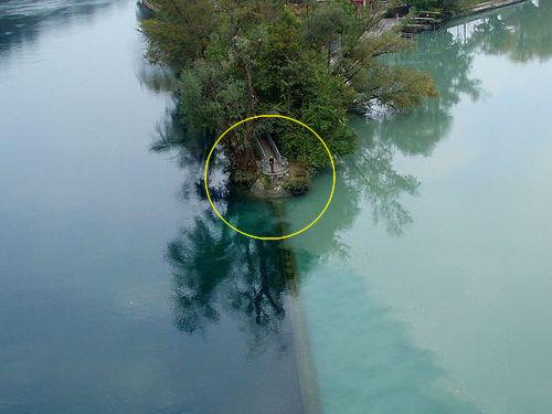 ローヌ川とアルヴ川の合流ポイント04