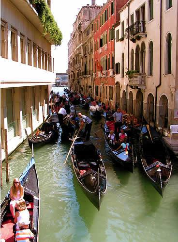 世界各国の渋滞-ベネチア
