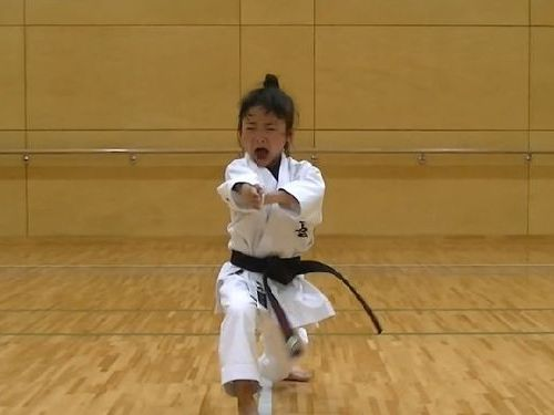 7歳空手少女04