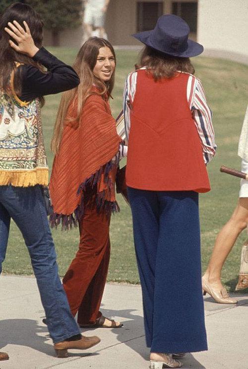 40年前のアメリカの女子高生ファッション05