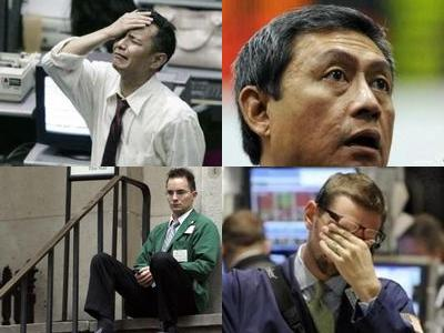 職場で嘆く男たち…金融危機の悲劇TOP