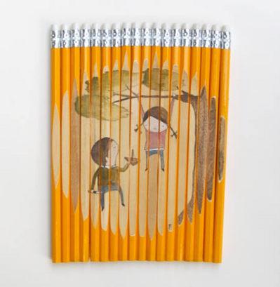 鉛筆アート05