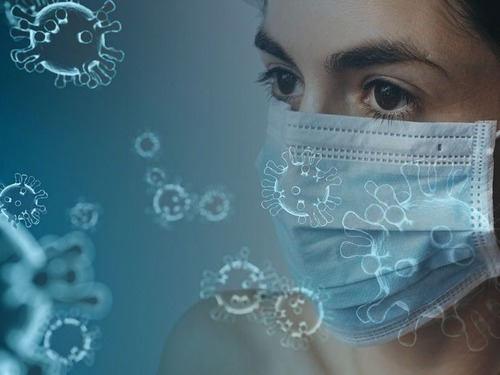 インフルエンザの死者数と新型コロナウィルスの死者数