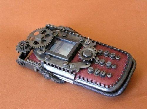 スチームパンクな携帯03