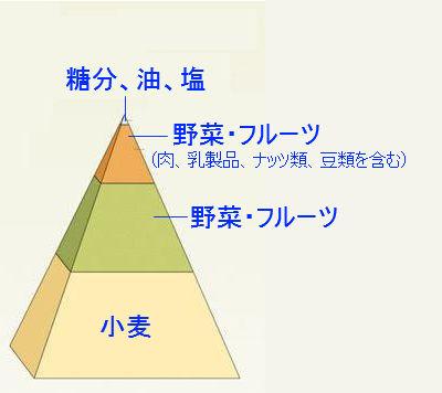 ・小麦・野菜・フルーツ・タンパク質(肉、乳製品、ナッツ類、豆類を含む)・糖分、油、塩