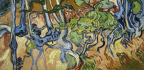 ヴァン・ゴッホ「樹木の根」(1890)