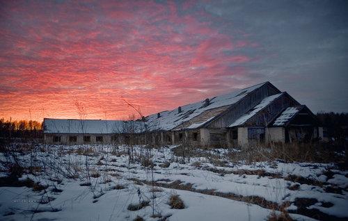 ロシアの廃村21