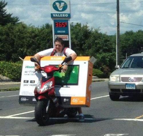 バイクで物を運ぶ限界23